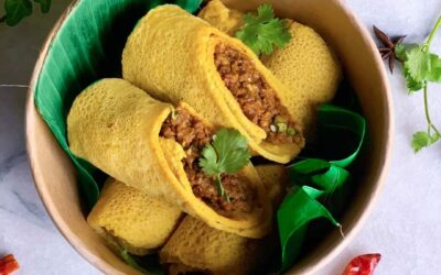 Vegan Indonesisch omelet