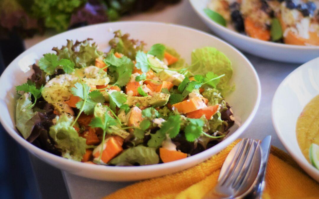 zoete-aardappel-salade-vegan